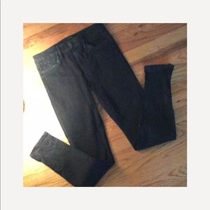 Joes black wash jeans .  The Skinny